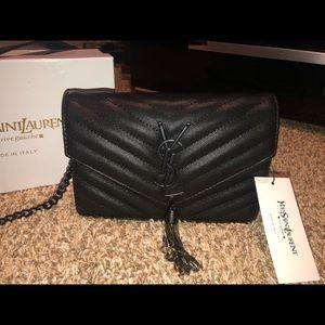 Yves saint Laurent tassel envelope bag